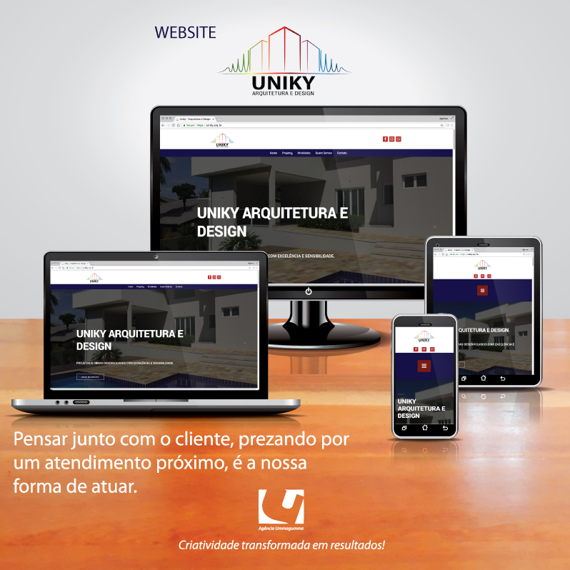 POST-WEBSITE-Uniky arquitetura
